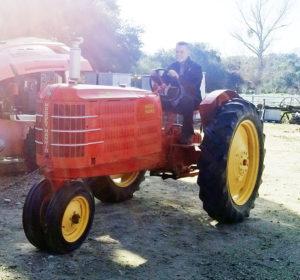 1936 Massey Harris- Rob Parris tractor