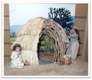 Framed wickiup